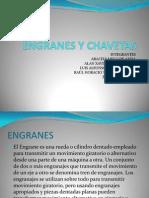 ENGRANES Y CHAVETAS