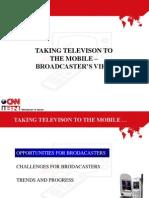 Sameer Manchanda Broadcasters View
