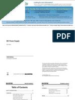 Instek SPD 3606 User Manual