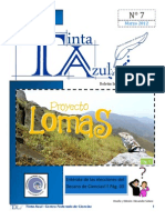 Boletín Informativo del CFC Tinta Azul N°7-Año 1