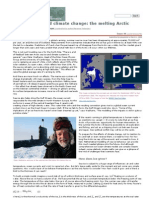 Maths and Climate Change the Melting Arctic Plus.maths