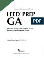 LEED GA Prep Manual