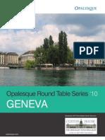 Opalesque 2010 Roundtable Geneva