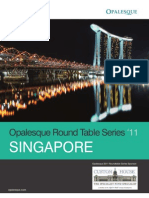 Opalesque 2011 Singapore Roundtable