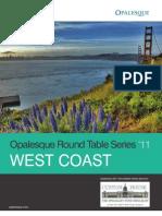 Opalesque 2011 West Coast Roundtable