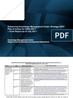 Enhancing Knowledge Management Under Strategy 2020