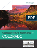 Opalesque Colorado Roundtable