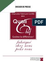 Dossier Presse Qualichef