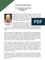 Anatole Jakovsky - Français