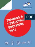 NYCI Training Brochure 2011