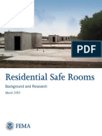 Residential Safe Rooms