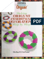 Origami Christmas Decorations Step by Step