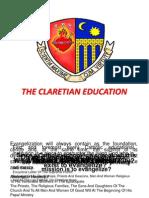 Orientation Claretian Education 2011-12