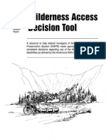Wild Access Decision Tool