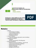 APRESENTAÇÃO - TEMA 09 - ENGENHARIA DE SOFTWARE