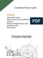 Vapor Power Cycles