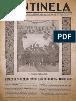 Ziarul Sentinela #3, 8 Ianuarie 1940