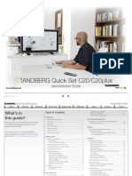 TANDBERG Quick Set C20-C20plus Administrator Guide (TC2.0)