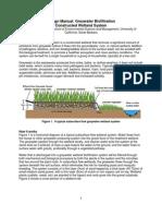 Greywater Wetlands 1