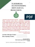 MBBR Tender Document and BOQs_Haryana Govt