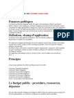 Finance Publique Finances