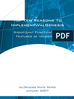 ValGenesis - Top 10 Reasons