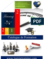 Catalogue de Formation TT 2012