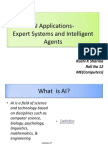 IA and Expert Systems by Ruchi K