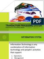 Transaction Processing System by Mahendra Mehra