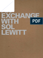 Exchange With Sol LeWitt Catalogue