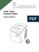 AI-200 Ice Maker Manual