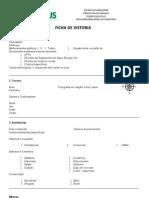 FICHA DE VISTORIA