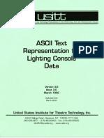 ASCII Protocol