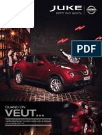 Nissan Juke French Brochure