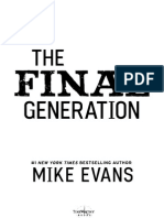 Preview Chapter 1 - The Final Generation by Mike Evans