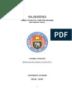 BSc Physics Hon 482010