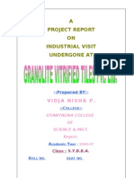 Granolite Vitrified Tiles Pvt. Ltd Project Report-prince Dudhatra