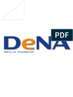 DeNA Annual Report 2011