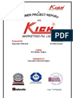 KICH MKT PVT LTD Project Report-Prince Dudhatra