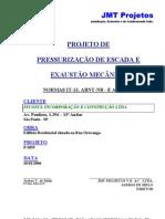 PRESSURIZAÇÃO DE ESCADA E EXAUSTÃO MECÂNICA (00) - FEV 2006