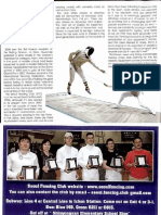 Groove Magazine Nov 2008 - Seoul Fencing Club Article