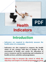 MMMC - Health Indicators