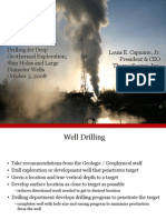 Drilling for Deep Geothermal Exploration