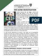 CSI39 Sed de Sangre