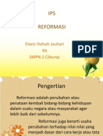 Reformasi - Elaeis Hafsah Jauhari (9A)