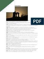 Breve cronología del Cementerio