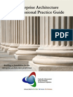 Enterprise Architecture a Professional Practice Guide