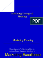 Marketing Planning 2000