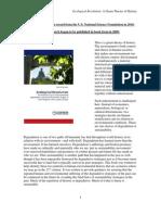 Whitaker Ecological Revolution summary environmental degra…