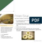 Potato Soup 4x6